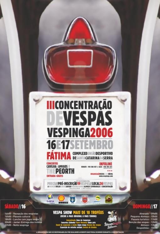 Cartaz Vespinga 2006