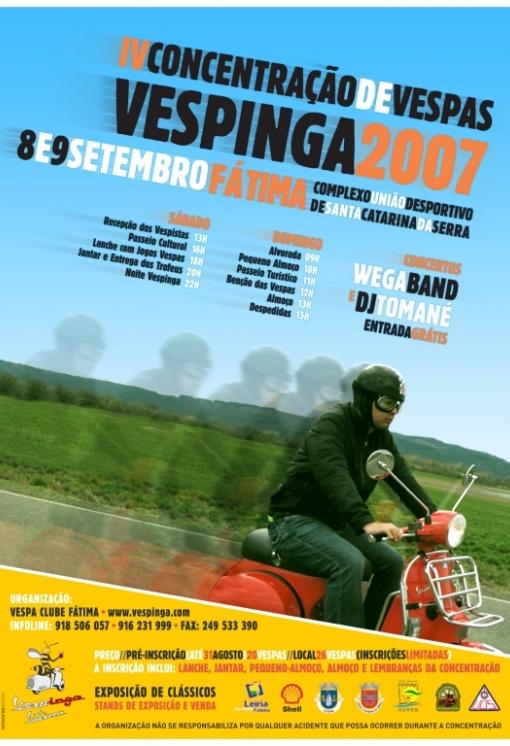 Cartaz Vespinga 2007