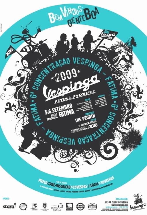 Cartaz Vespinga 2009