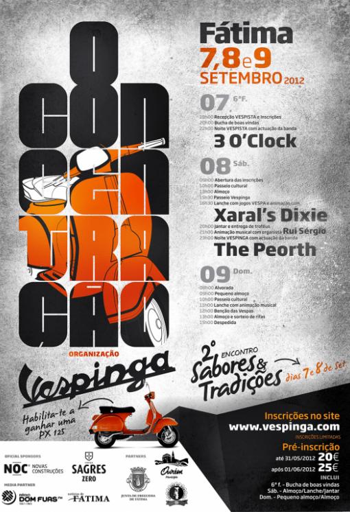 Cartaz Vespinga 2012